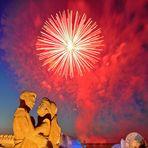 Ein Feuerwerk für Liebende