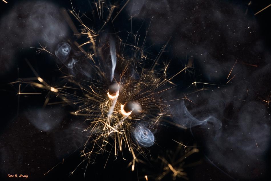 Ein Feuerwerk im All.....