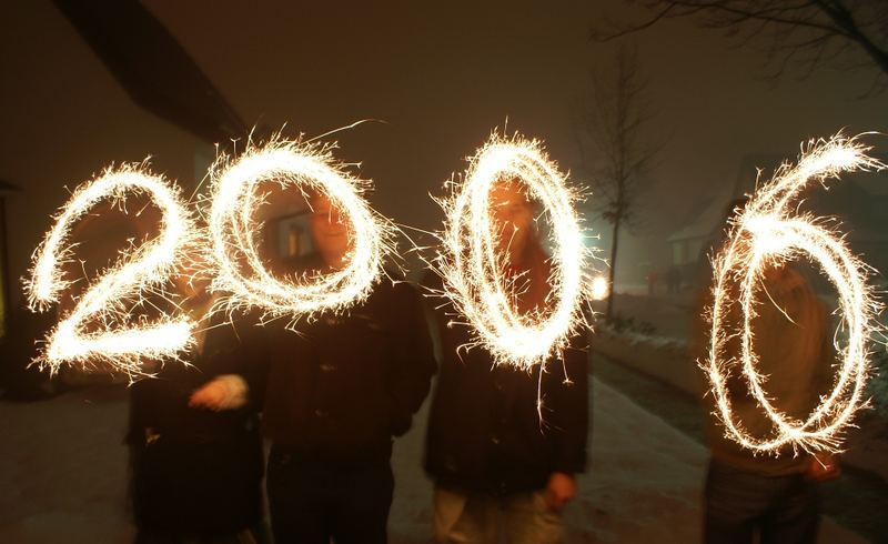 Ein feuriges neues Jahr
