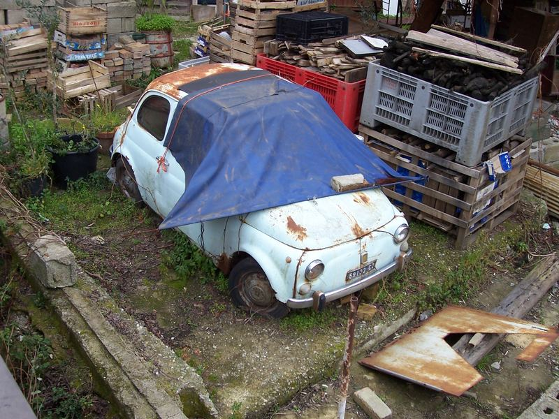 Ein Fiat in Lamezia