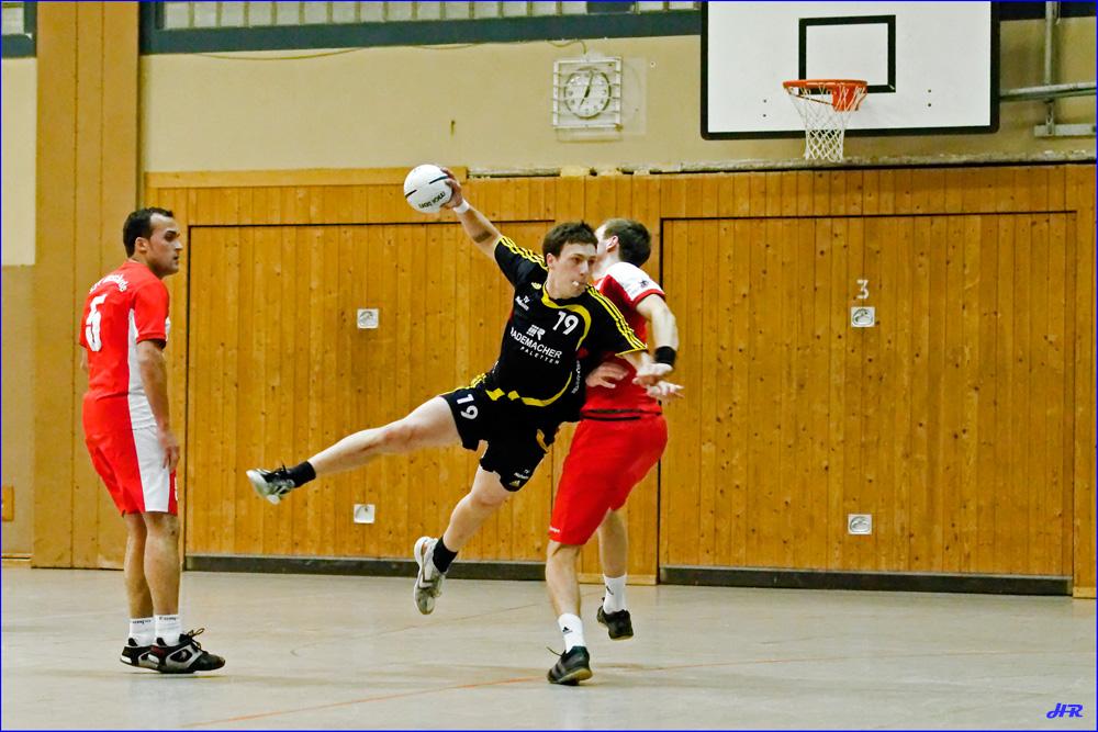 """""""Ein fliegender Handballspieler"""""""