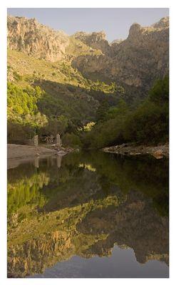 Ein Fluss auf Mallorca