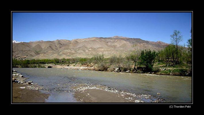 Ein Fluss in Afghanistan
