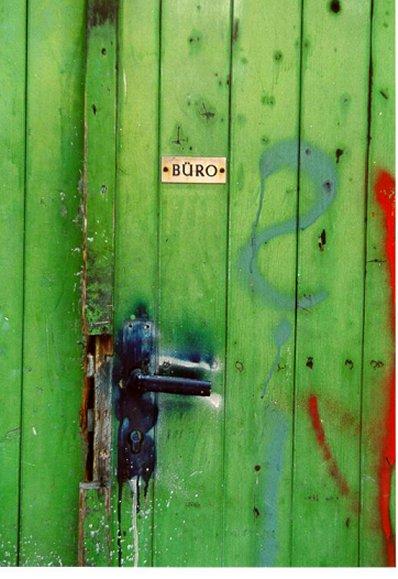 Ein Foto für alle Menschen mit Bürotüren :o)