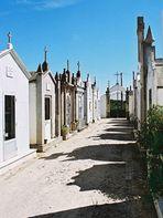 Ein Friedhof an der Algarve