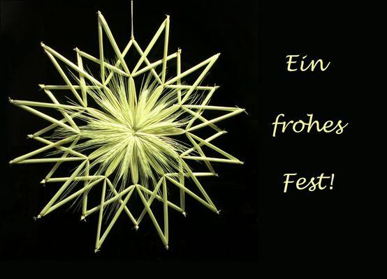 Ein frohes Fest...