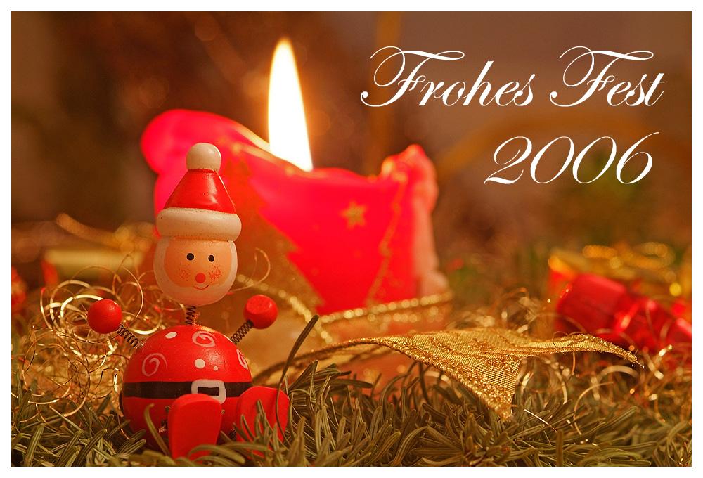 Ein frohes Fest Euch allen...