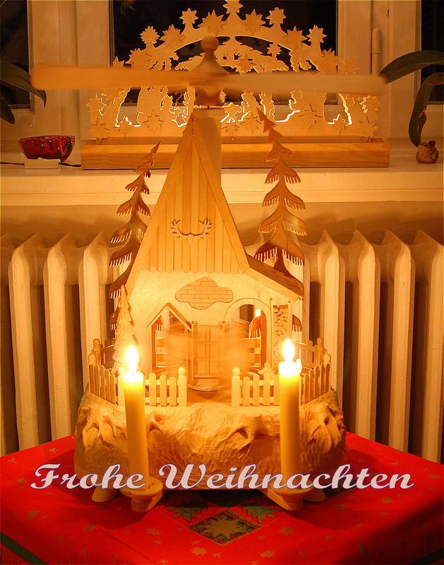 Ein Frohes Fest wünscht allen Hermann