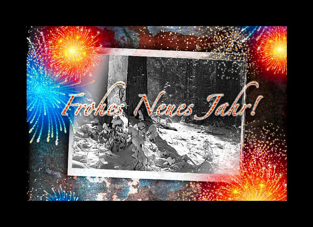 Ein Frohes Neues Jahr ...