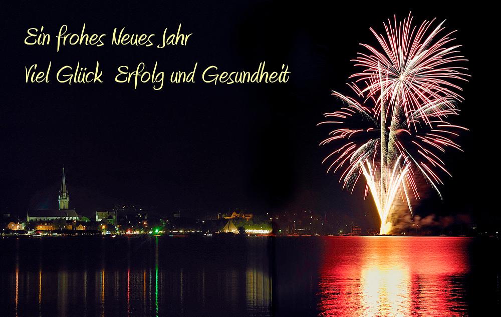 Ein frohes neues Jahr an alle