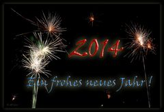 Ein frohes neues Jahr! ...