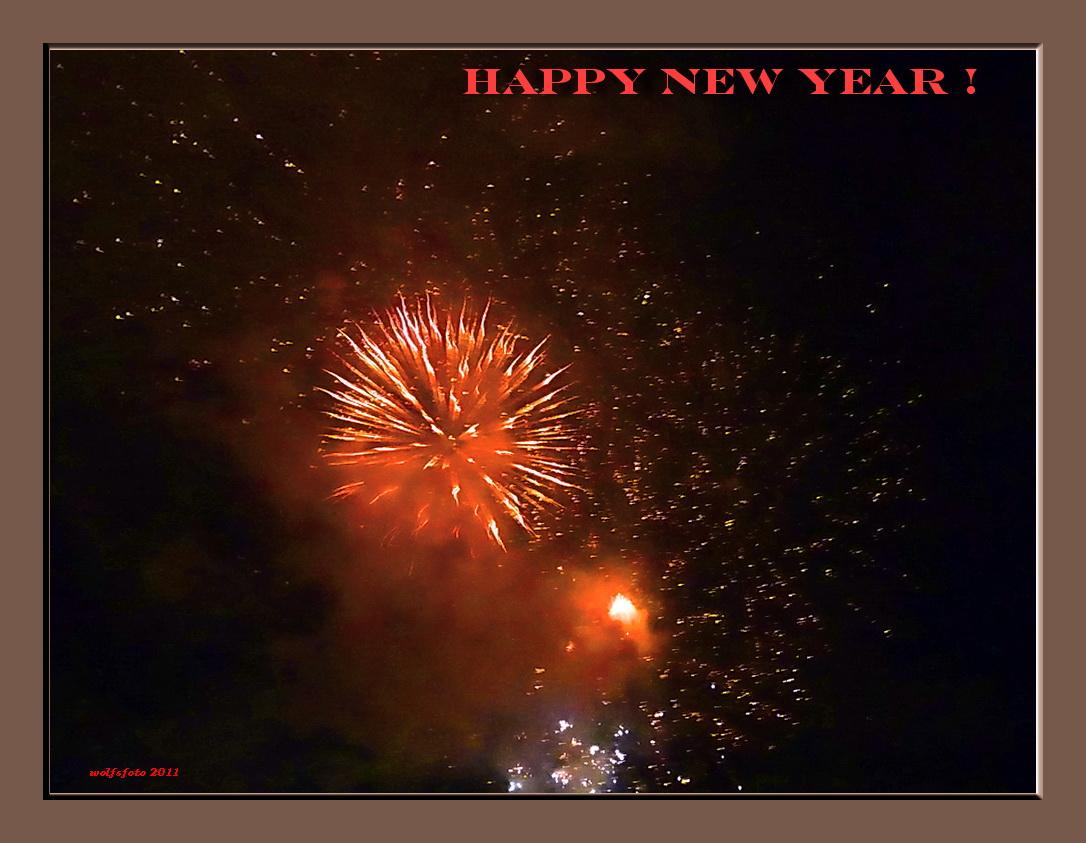 Ein frohes Neues Jahr !