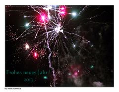 Ein frohes neues Jahr......