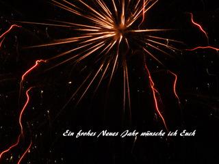 Ein frohes Neues Jahr wünsche ich Euch!