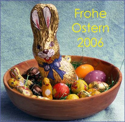 Ein frohes Osterfest an alle fc`ler