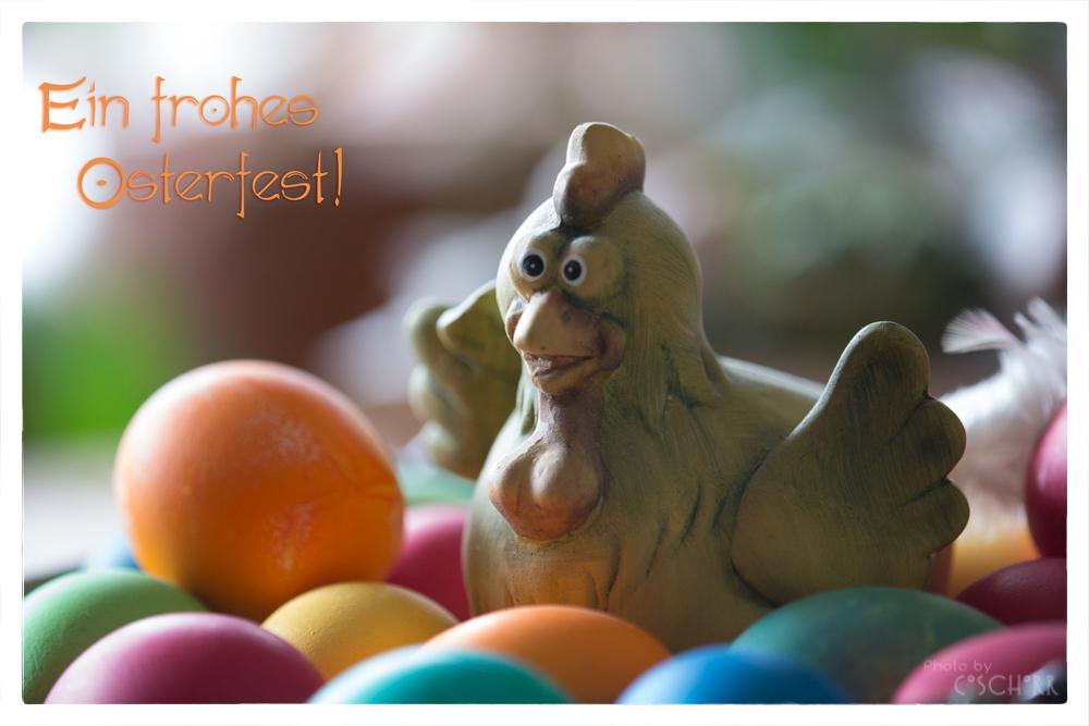 Ein frohes Osterfest euch allen!