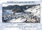 Ein frohes und gesegnetes neues Jahr 2011