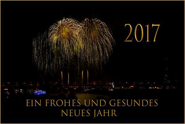 Ein frohes und gesundes neues Jahr....