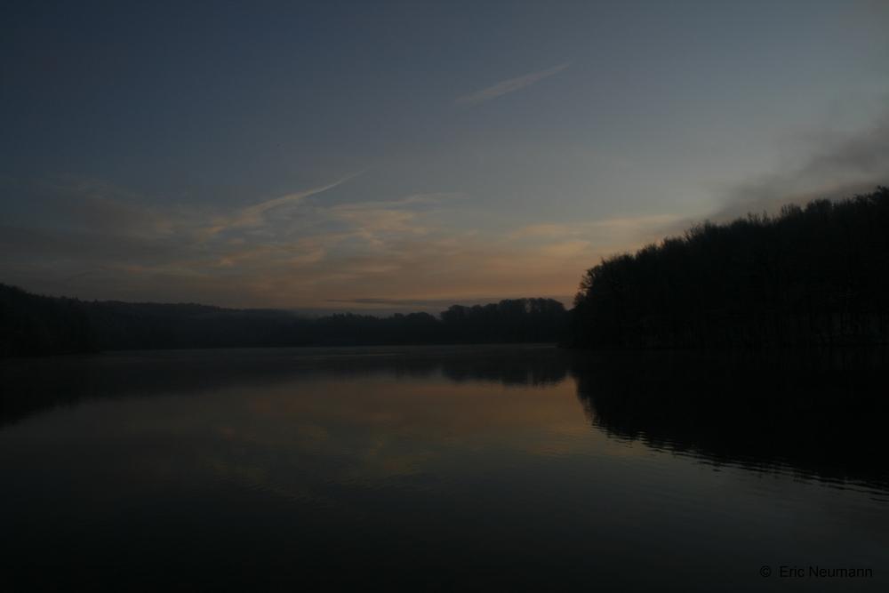 Ein früher Wintermorgen im November