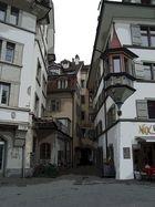 Ein Gässchen in Luzern