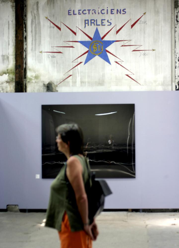 ein gang durch eine fotoausstellung 2007 in arles frankreich