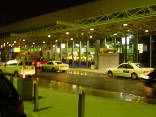 Ein ganz gewöhnlicher Abend am Flughafen
