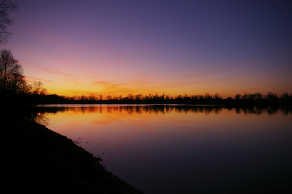 Ein ganz normaler Sonnenuntergang