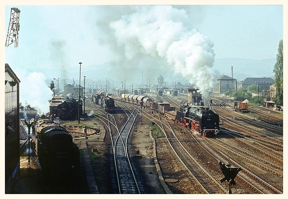 Ein ganz normaler Tag Eisenbahnbetrieb - 1980