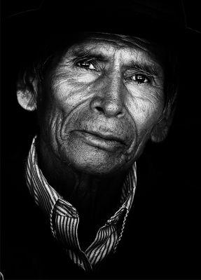 Ein Gesicht Boliviens
