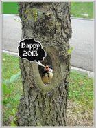 Ein gesundes, humorvolles, friedliches und einfach glückliches 2013