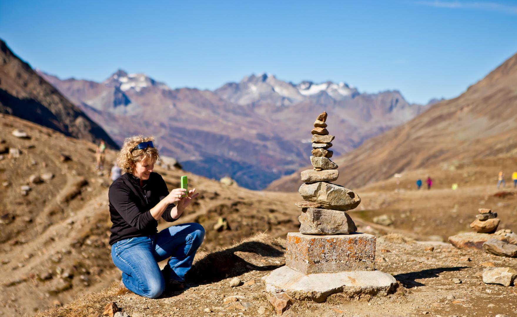 Ein Gipfelfoto ;-) mal etwas anders