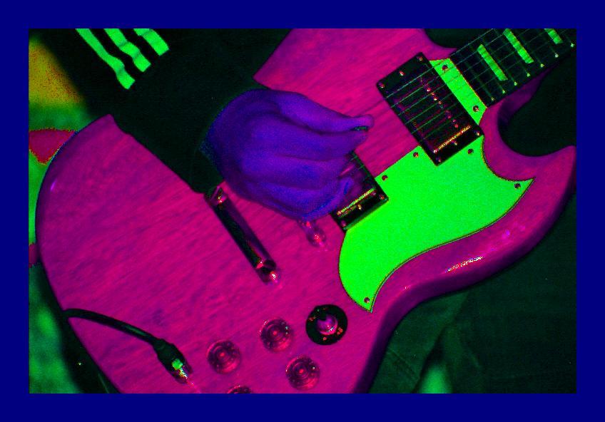 Ein Gitarren-Experiment