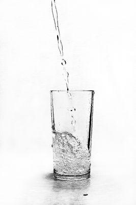 Ein Glas Wasser bitte!