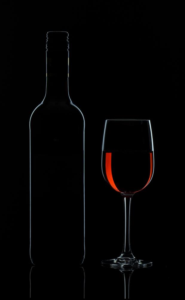 ...ein Glas Wein...