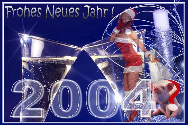 Ein Glückliches Neues Jahr von Piroska Baetz