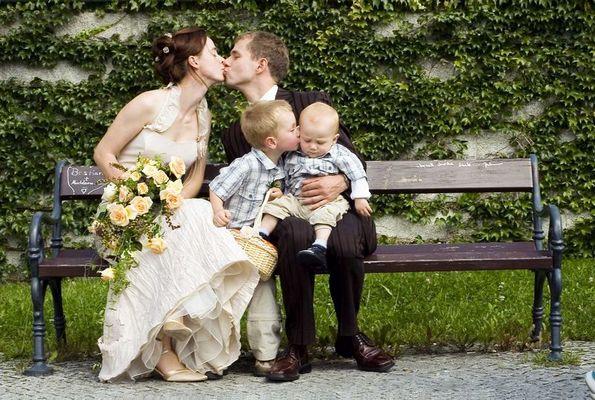 ein glückliches paar! ...so muss es sein...