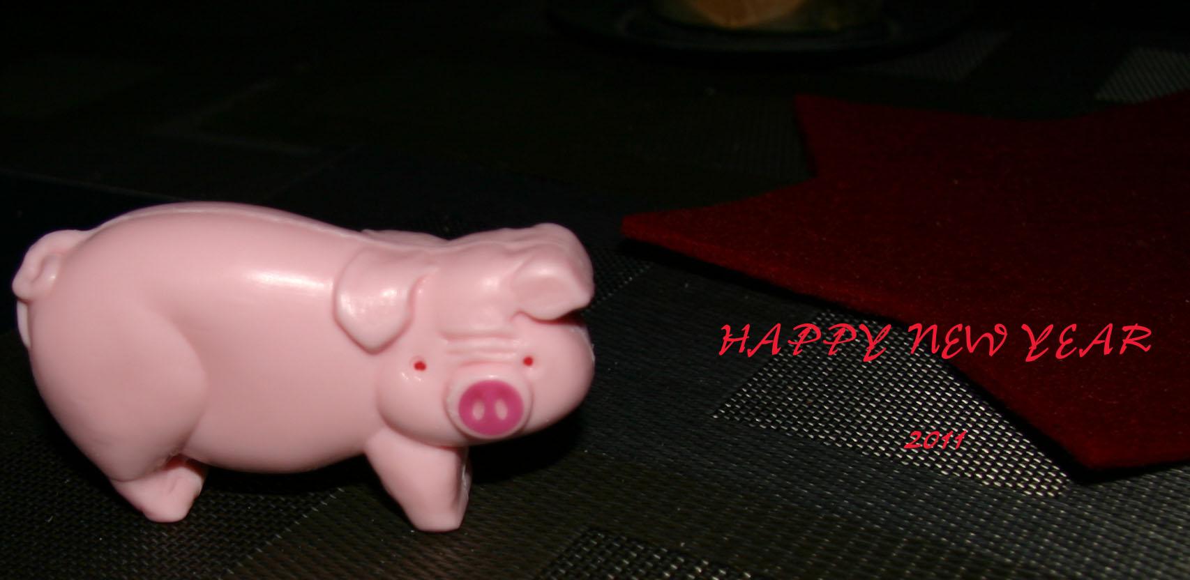 Ein Glücksschwein für jeden der es möchte.