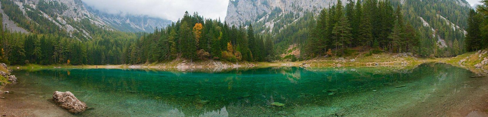 Ein grauer Herbsttag am Grünen See