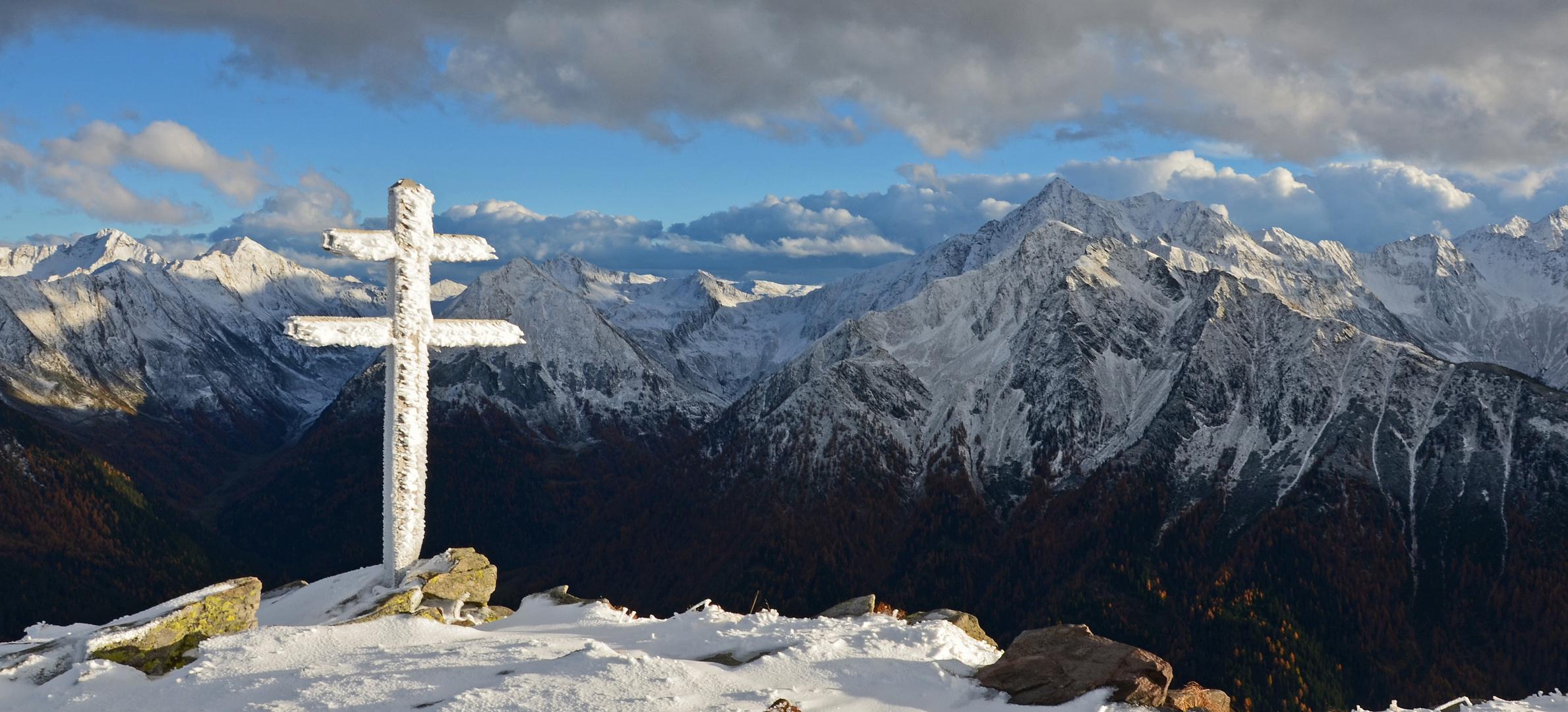 Ein großartiger fünfter November 2013 am Jaufenkamm, Südtirol
