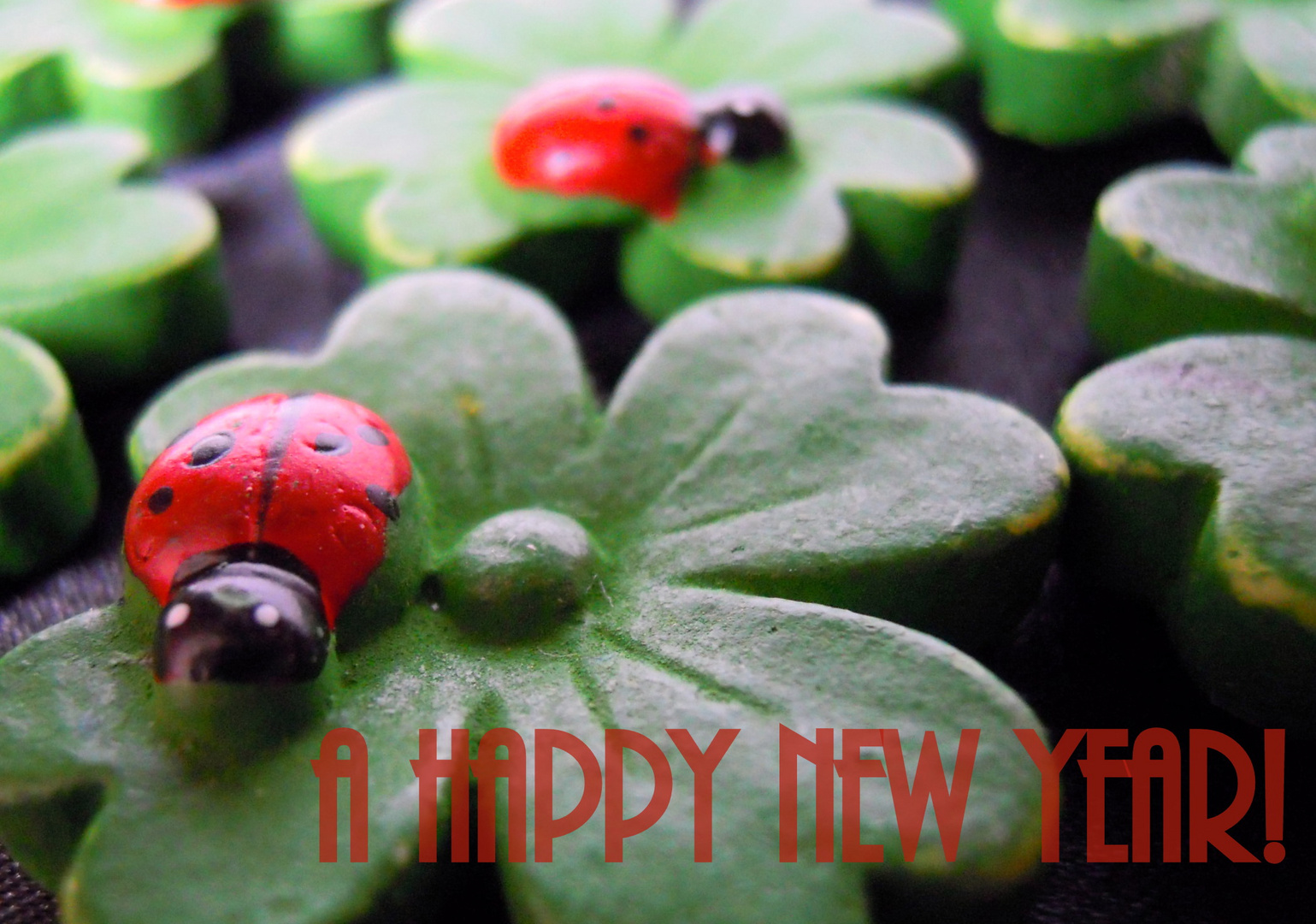 Ein gutes, gesundes neues Jahr! :)