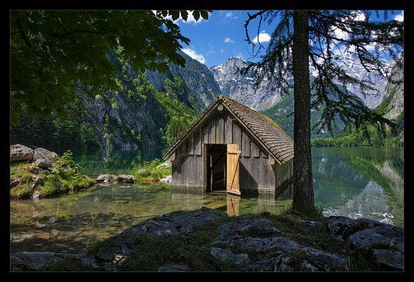 Ein Häuschen im Obersee