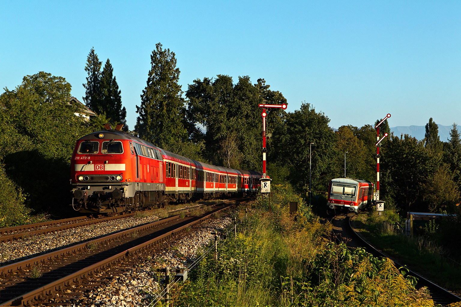 Ein Hauch von Bundesbahnflair