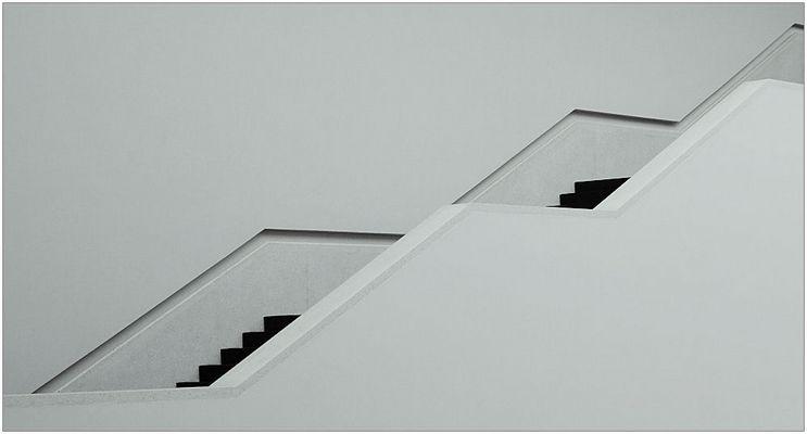 Ein Hauch von Treppe