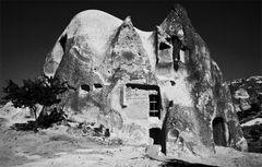Ein Haus aus Sand