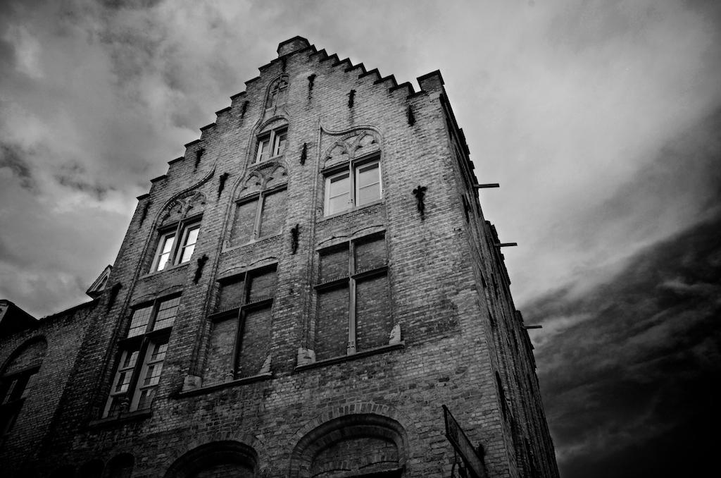 Ein Haus in Brügge Belgien, Flandern