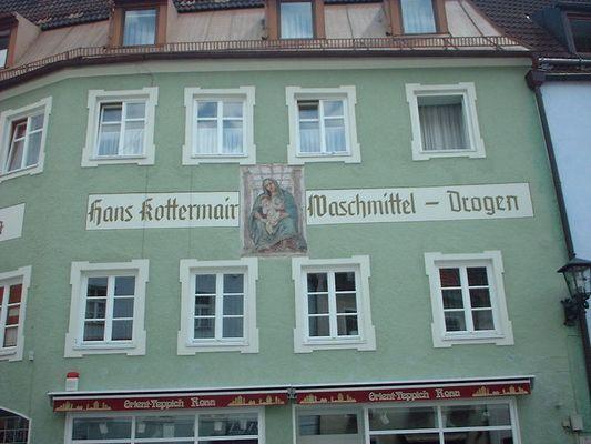 ein Haus in Garmisch