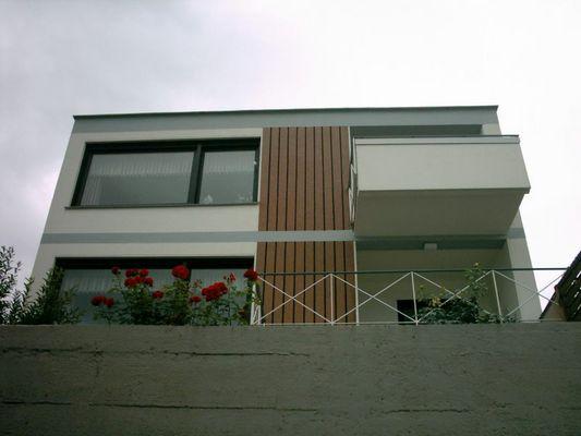 Ein Haus in Köln-Rodenkirchen. David-Lynch-Style!