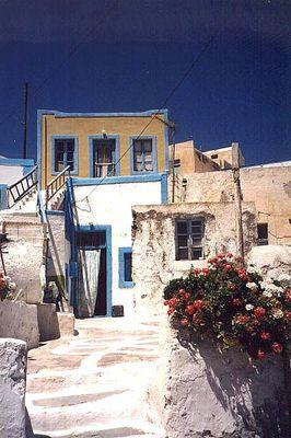 Ein Haus in Thirassia