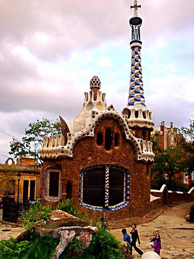 Ein Haus von Gaudi