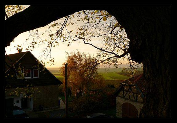Ein Herbstmorgen in Evessen bei Braunschweig